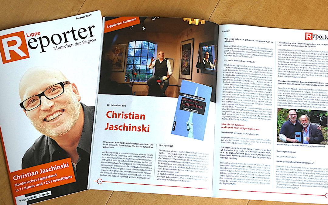 """Schönes Interview im """"Reporter Lippe"""""""