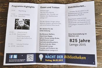 Christian Jaschinski | Nacht der Bibliotheken